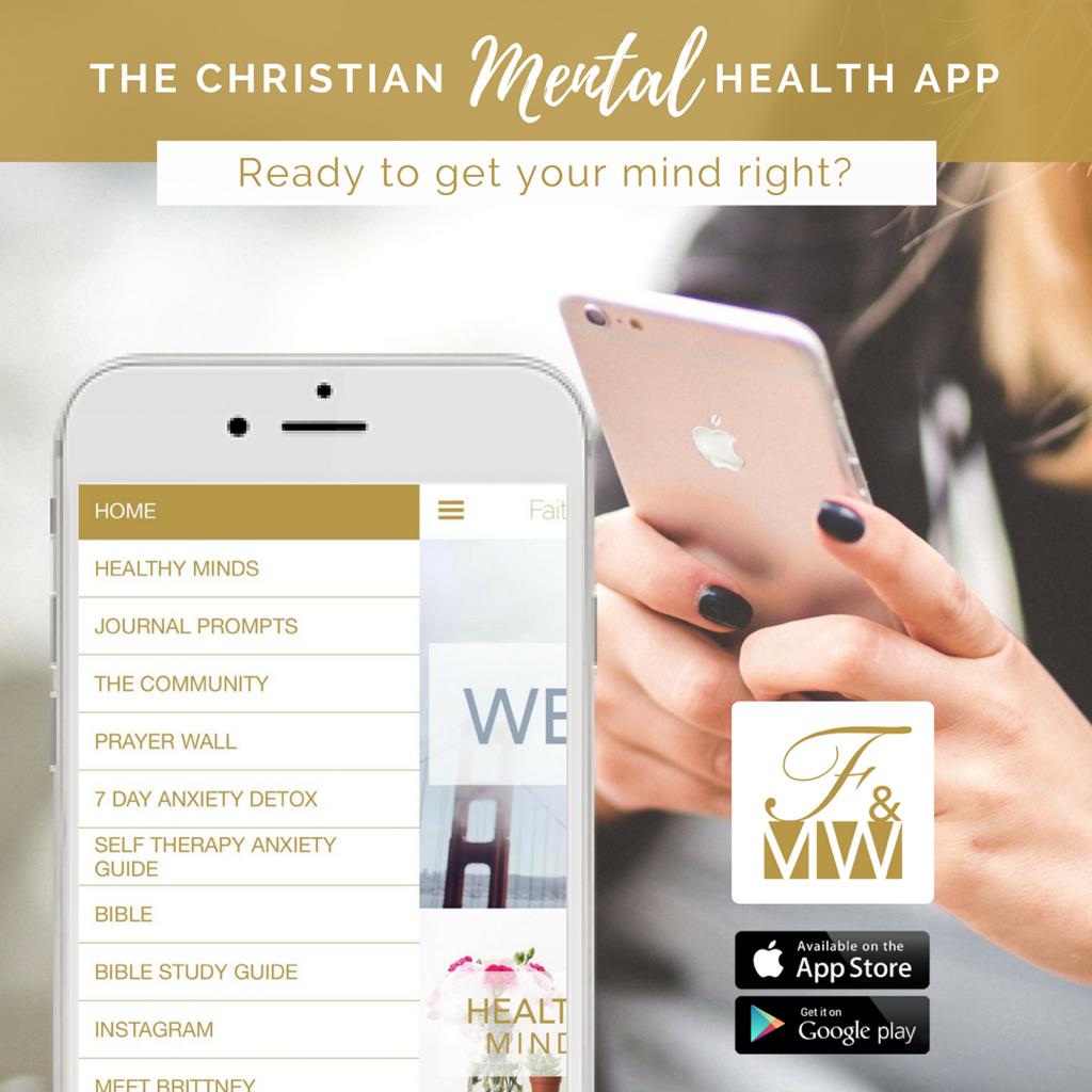 The Faith & Mental Wellness App is now Live!