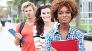 black-white-college-students