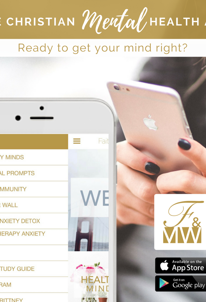 The Faith & Mental Wellness App is now Live!
